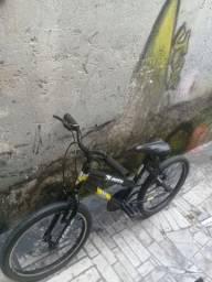 Bicicleta aro:20 Completa...freios dianteiro e traseiro...e com preço acessível...