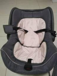 Bebê conforto Galzerano Cocoon Grafite/Rosa Mod 8181