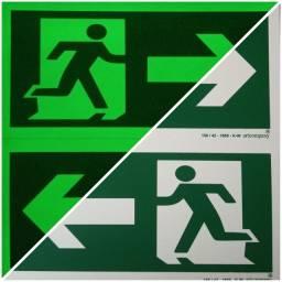 Placas de sinalizaçao de certificadas