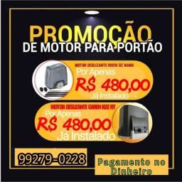 PROMOÇÃO DE MOTOR DE PORTÃO POR APENAS 480$ INSTALAÇÃO E MANUTENÇÃO DE PORTÃO