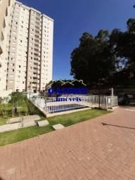 Alugo lindo apartamento 48 m² C/ 2 Doms - Elevador, Lazer, 1 Vaga