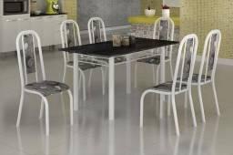 Mesa com 6 cadeiras Tubular zas523