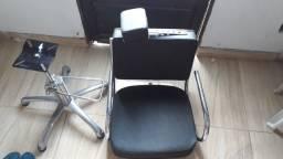 Cadeira de salão e barbearia
