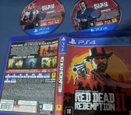 Jogos ps4 - red dead, fallout 76, metal gear v e horizon zero dawn