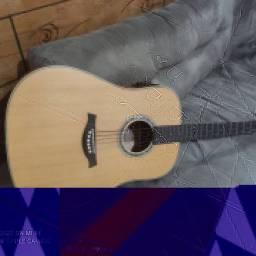Violão Tagima Woodstock 25 elétrico