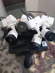 Cistema de câmeras completo