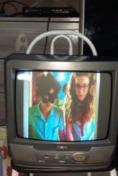 TV de 14 com conversor digital