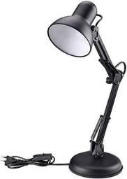 Abajur de Mesa Articulável Luminária Pixar c/ Base Garra