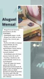Quarto/Chalé Mensal no Soluna