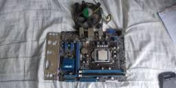 Processador G2030+ Placa mãe com defeito+2gb