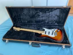 Guitarra SX American Alder com Captadores Dimarzio, Ponte e Tarraxas Gotoh, Nut Graphtech