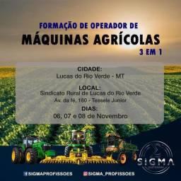 Curso de Operador de Máquinas Agrícolas