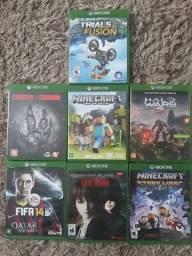 Lote de jogos do Xbox one tudo novinho