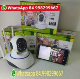 Camera ip wifi para monitorar pelo smartphone Também e baba eletrônica <br><br>