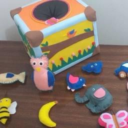 Caixa de música educação infantil - brinquedos educativos