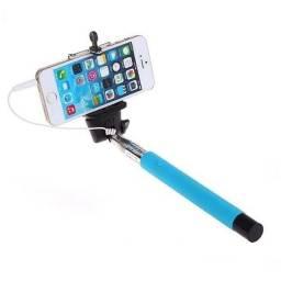 Bastão Pau de Selfie com Adaptador - Botão integrado (NOVO)