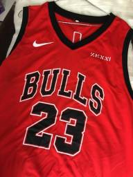 Camisa de Basquete Bulls e Lakers
