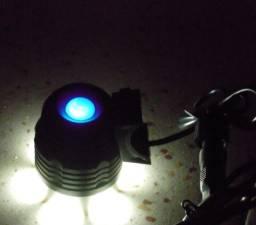(NOVO) Farol de Bike e Lanterna de Cabeça