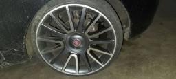 Rodas bravo 17 pneus 185 35 17 vendo separado