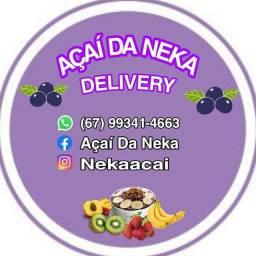 Delivery de açaí