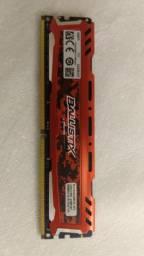 Memória Ballistix DDR4 16GB 2666MHZ