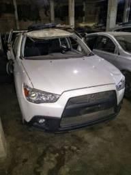 Sucata Mitsubishi ASX 2.0 2014 para retirada de peças