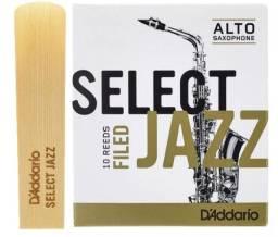 Palheta Select Jazz - unidade ou caixa com 10 palhetas