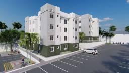 Rm. Apartamento 2 quartos, em condomínio clube em Araucária