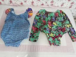 Roupas infantil menina. Maiôs e calcinhas. R$ 60
