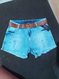 Shorts 65,00 novos