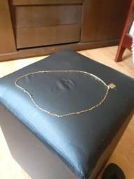 Corrente de ouro 60 cm 7.5 gramas