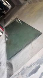 3 folhas de blindex 250x80 10 milímetros retirar no local