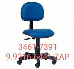 Cadeira giratória Secretária em tecido