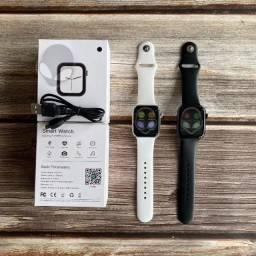 Relógio Smartwatch Iwo 8 Lite 44mm Fit Bluetooth Ios Android