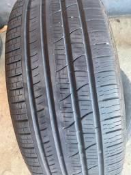 2 Pneus Pirelli 225/55/18 Semi novos