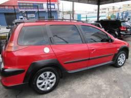Peugeot 206 sw escapade 1.6 flex 2008 completa