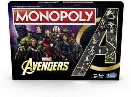 Monopoly Avengers Hasbro Exclusivo