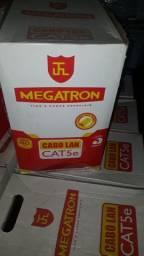 Cabo de Rede Cat5e 305m Megatron Anatel