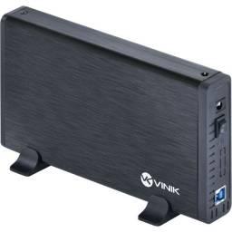 Casse p/ HD 3.5 Externo com USB 3.0 Vinik 24387
