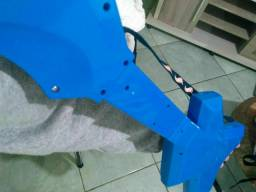Guitarra hotwells azul