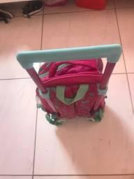 Kit escolar mochila infantil