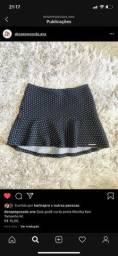 Vendo saia preta tamanho M