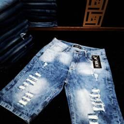 Bermuda Jeans Masculino