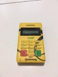 Maquininha Máquina De Cartão Com Chip PapSeguro