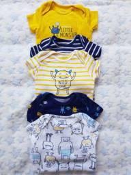 Roupinhas para menino tamanho RN e 3 meses