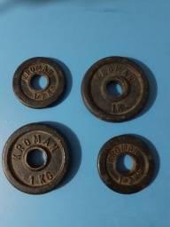 Pesos Kroman 1/2kG .1kG