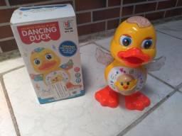 Brinquedo Eletrônico Pato Dançante Novo na Caixa