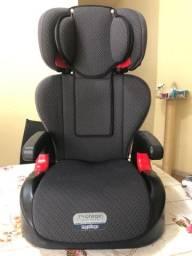 Cadeira de elevação com encosto para automóvel grupo 1 a 3 de 15a 36ks