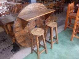 Bar rústico em madeira maciça, para sua casa,sitio,pousada,fazenda, direto de fábrica