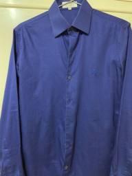 Camisa Ricardo Almeida Azul Marinho